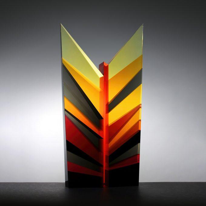 Fine Art Glass Sculpture - Petra Hřebačková