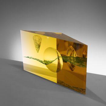 Fine Art Glass Sculpture - Andrej Jakab