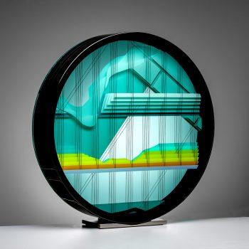 Fine Art Glass Sculpture - Bohumil Eliáš Jr.