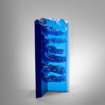 Glassart - Marek Brincko Blue Honeycomb