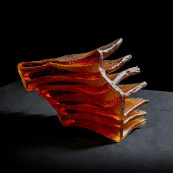 Fine Art Glass Sculpture - Zora Palová